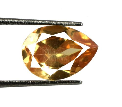 Pakistan 5.25 Ct Brown Axinite Gemstone Pear 100% Natural AGSL Certified E1707