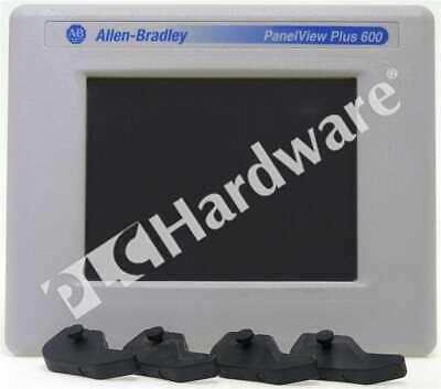 Allen Bradley 2711p-t6c5d D Panelview Plus 600 Color Terminal Touchrs232