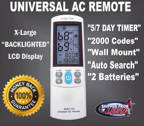 как выглядит Universal AC Remote For Winia Whirlpool Trane Toshiba TCL Tadiran Shinco Sanyo фото