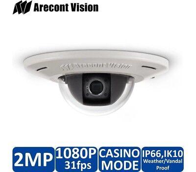 Arecont Av2455dn-f 1280x1024 31fps H.264 Casino 4mm Lens Microphone