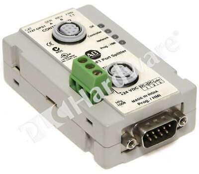 Allen Bradley 1747-dps1 A Rs232 Df1 Port Splitter Slc500plc-5micrologix Read