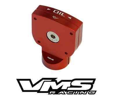 VMS BLACK BILLET ALUMINUM ENGINE OIL DIPSTICK HANDLE 03-12 DODGE RAM DURANGO 5.7