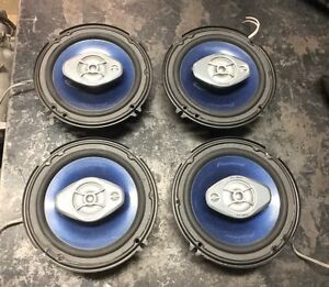 Set of car speakers
