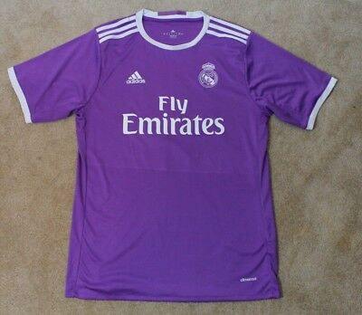 d752425147c Adidas Real Madrid Soccer Jersey - Purple and White - Mens Large  0 PATEL