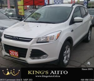2015 Ford Escape SE, AWD, NAVIGATION, HEATED SEATS
