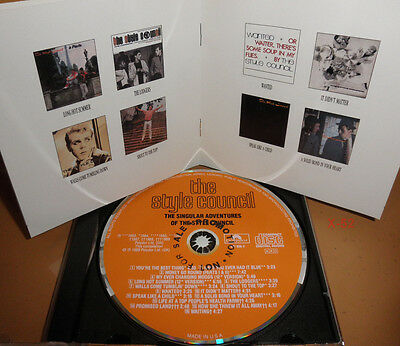 STYLE COUNCIL Cd HITS Speak Like A Child LONG HOT SUMMER My Ever Changing Moods - $11.99