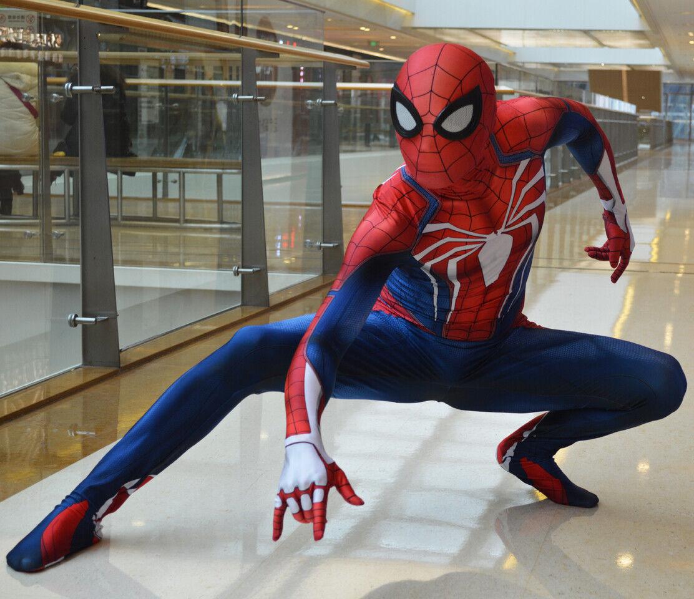 Картинке из игры человек-паук костюмы картинки