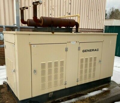 85 Kw Generac Generator Natural Gas Standby Back-up Power Generator