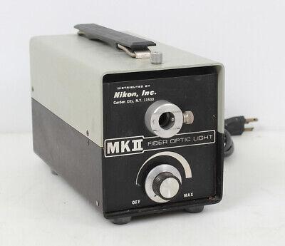 Nikon Mk Ii Fiber Optic Light Source Fo-150