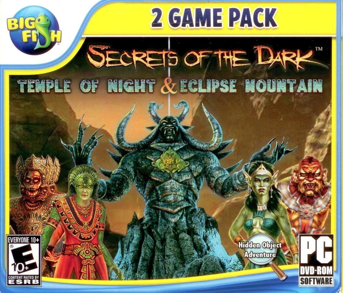 Computer Games - Secrets Of The Dark 2 Pack PC Games Windows 10 8 7 XP Computer hidden object NEW