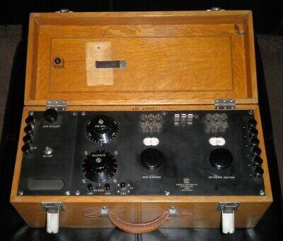Vintage Leeds Northrup Potentiometer Galvanometer Presented By Asarco