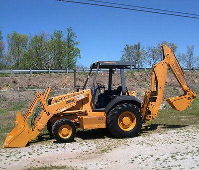 Case 580 590 Super L 580l 590l Sl Series 2 Backhoe Loader Service Manual On Cd
