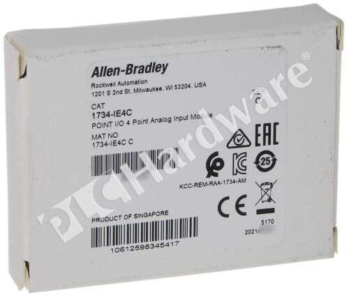 New Allen Bradley 1734-IE4C /C POINT I/O 4-Ch High Density Current Input
