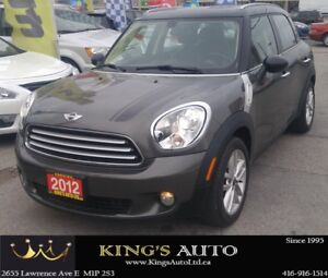 2012 MINI Cooper Countryman LEATHER, HEATED SEATS