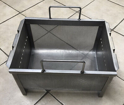 Commercial Kitchen 13.5 X 18 X 9.5 Stainless Steel Deep Fryer Basket