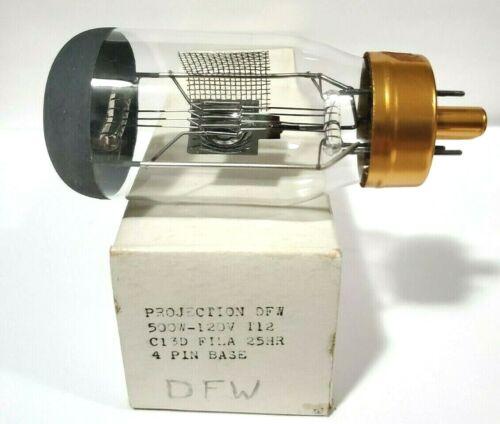 1 Vintage NOS  Radiant DFW DEK DHN  120V  500W  25 Hours Projector Lamp Bulb