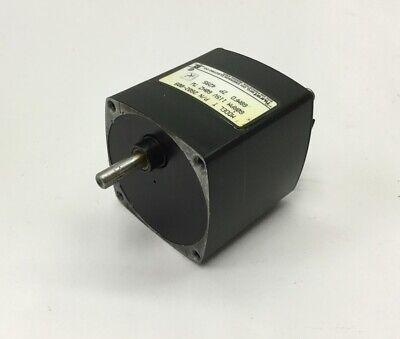 Hurst 2602-009 Model T Synchronous Ac Gearmotor 115vac Shaft 0.25 60rpm