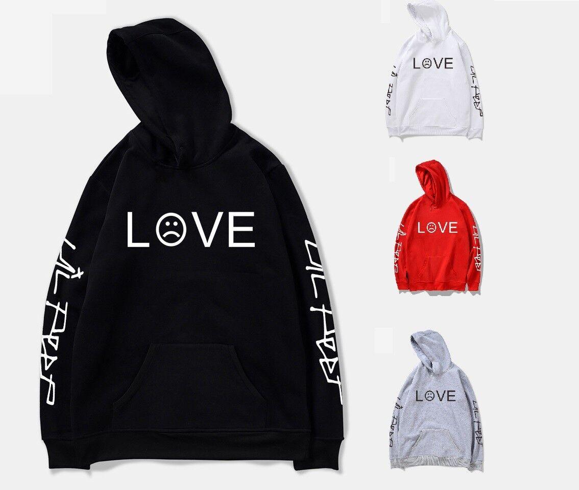 Lil Peep Cry Baby Kapuzenshirt Kapuzenpullover Sweaterhirt Top Grafik Hell Boy