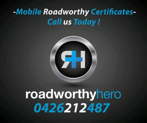 Mobile Roadworthy Certificates - home or work - anytime