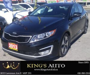 2013 Kia Optima HYBRID EX LOADED, HEATED/COOLED SEATS