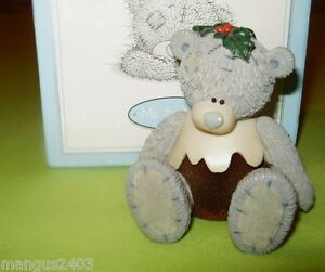 ME-TO-YOU-BEAR-FIGURINE-DRESSED-AS-A-CHRISTMAS-PUD-PUDDING-BNIB-PAPERWORK