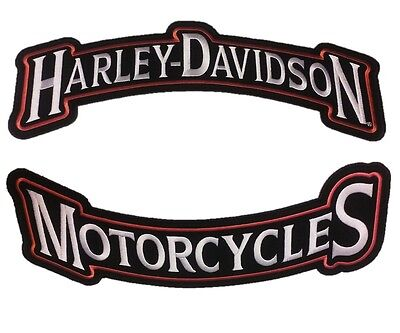 Harley Davidson Motorcycle Patch Harley Rockers Vest Jacket Patch Large Lot of 2