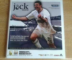 SWANSEA CITY V MANCHESTER CITY 4TH MAY 2013 PREMIER LEAGUE MINT