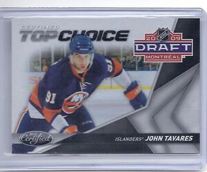 10-11-2010-11-CERTIFIED-JOHN-TAVARES-TOP-CHOICE-500-1-NEW-YORK-ISLANDERS