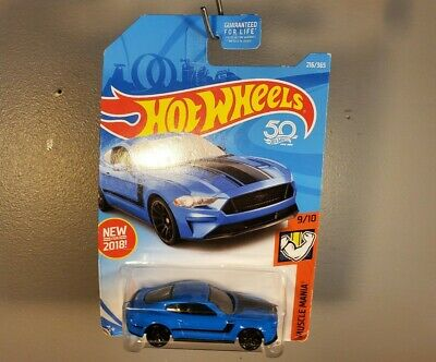 2018 Ford Mustang GT Hot Wheels 216/365 New for 2018 Muscle Mania FJV78-D9C0J
