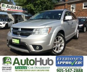 2011 Dodge Journey R/T-AWD-LEATHER