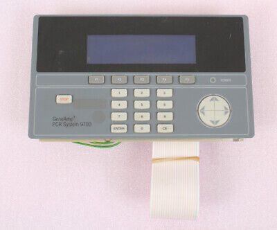 Applied Biosystems Geneamp Pcr System 9700 Control Panel With Lcd