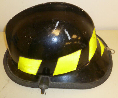 Firefighter Bunker Turn Out Gear Cairns 662c Black Helmet Reflector  H178