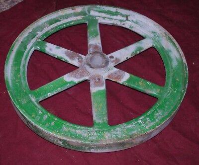 1 12 Hp John Deere Model E Crank Side Flywheel Gas Engine Motor 2