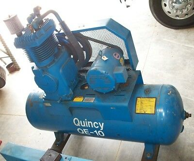 10031 Quincy 10 Hp Two Stage Air Compressor
