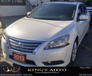 2013 Nissan Sentra SV, SUNROOF, NAVI, LEATHER