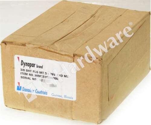 New Sealed DYNAPAR HR62510240000 Incremental Encoder Resolution (PPR) 1024 Qty