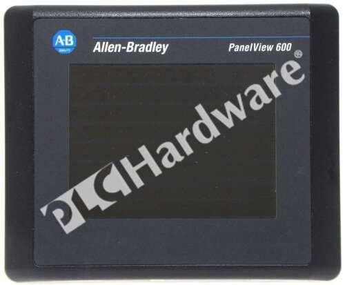 Allen Bradley 2711-T6C10L1 /A PanelView 600 Color/Touch/DeviceNet/RS-232 DC