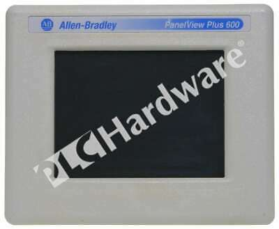 Allen Bradley 2711p-t6c22d D Panelview Plus 600 Touchcolorenetrs-232 Dc