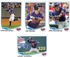 Topps Joe Mauer Team Set Baseball Cards