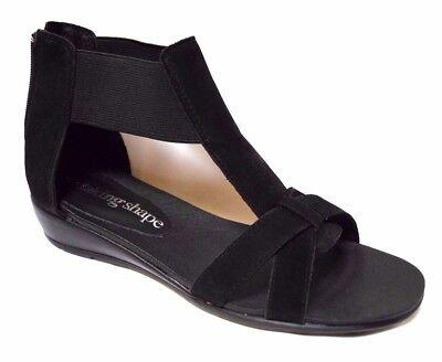 TS shoes TAKING SHAPE sz 6 / 37 Gemma Sandal nubuck leather flats NIB rrp$160!