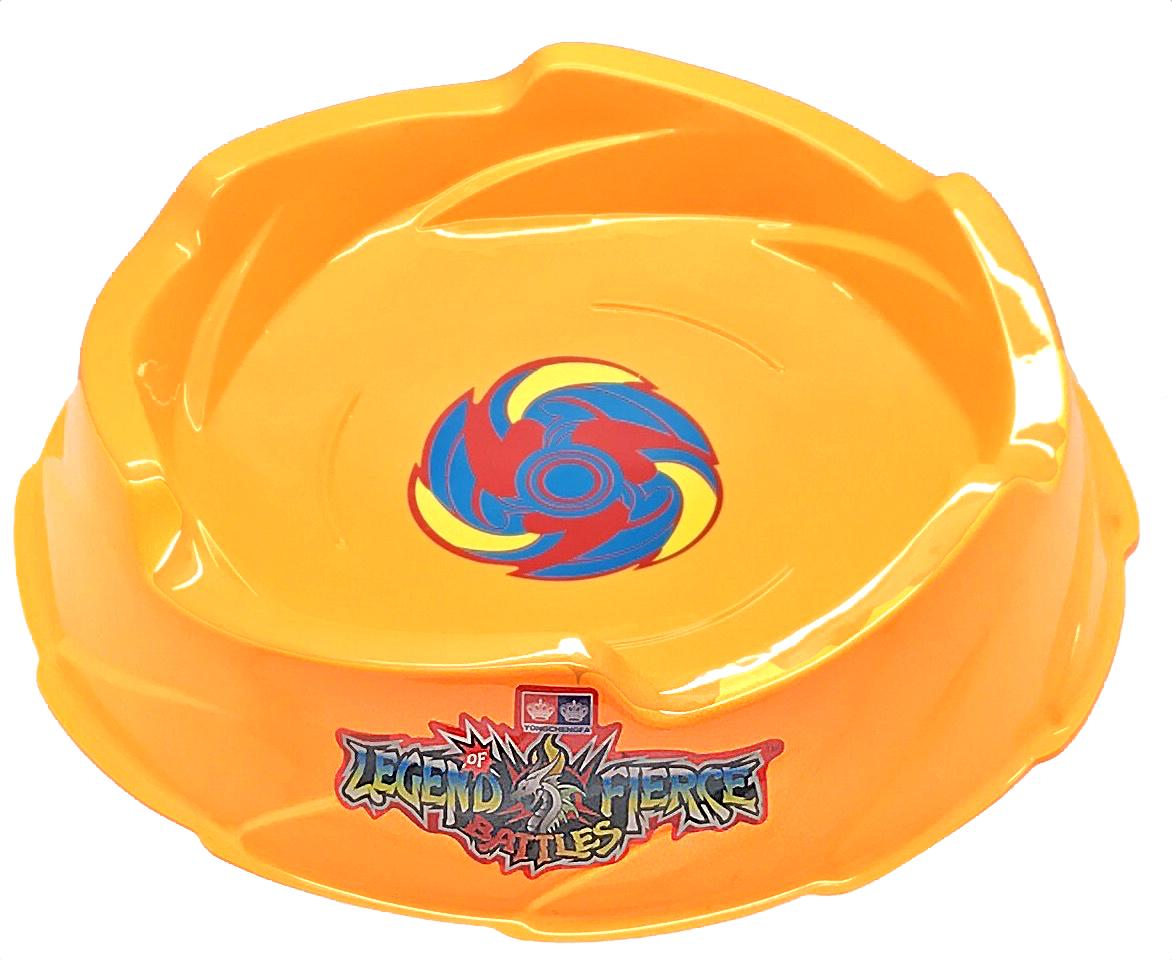 Beyblade Yellow Battle Stadium Arena Pegasus Thunder Whip Be