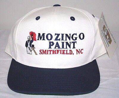 44e72e0549 New Old Stock Mozingo Paint Smithfield NC North Carolina Adjustable Hat Cap