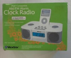 IPOD Compatible AM/FM Alarm CLOCK RADIO