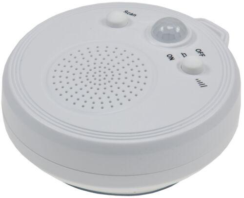 Duschradio mit Saugnapf Radio PIR Sensor Bewegungsmelder Badezimmer Badradio