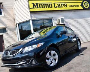 2015 Honda Civic Bluetooth! Backup Camera! Fuel Economy!