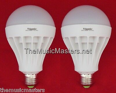 2X Led Light Bulb 15W Lamp 125W Oversized Replacement 600 Lumens White Daylight