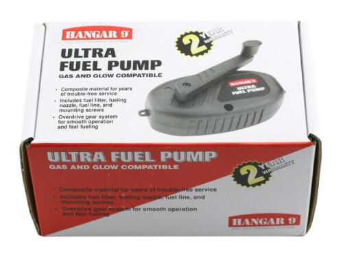 New Hanger 9 Manual Ultra Fuel Pump Gas & Glow Nitro RC airplanes HAN155