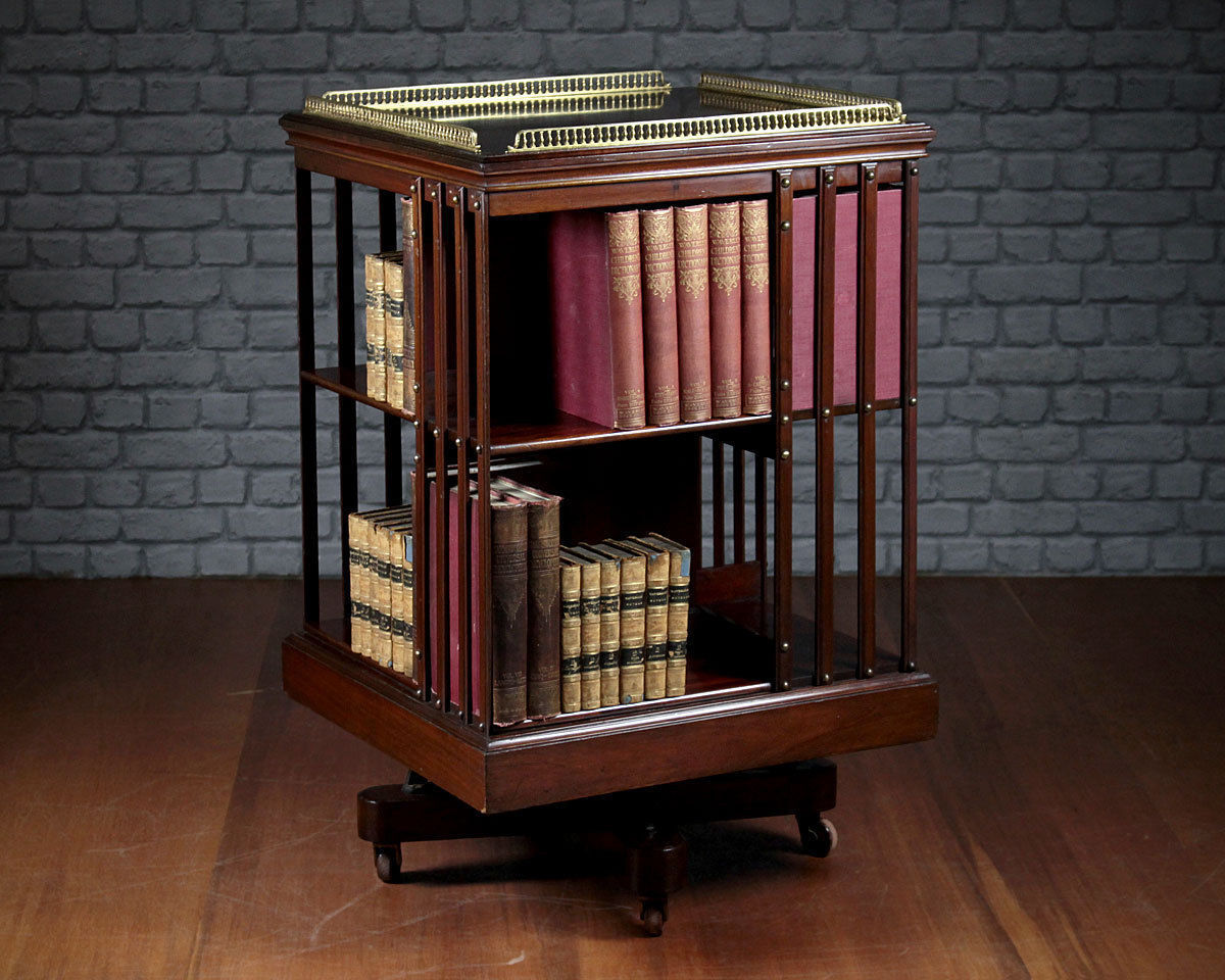 How to make a revolving bookcase ebay for Making a bookcase