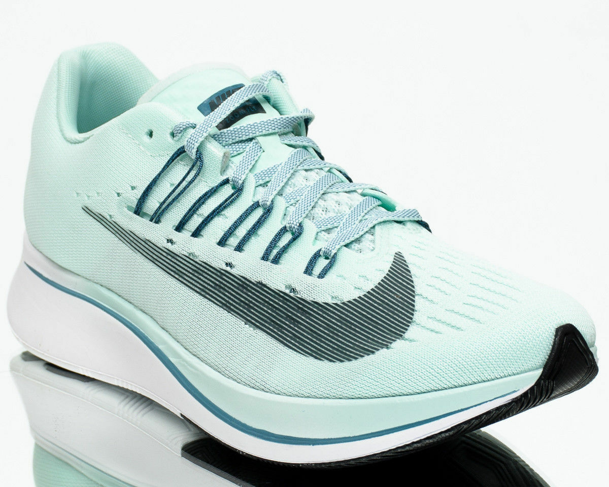WOMEN'S NIKE ZOOM FLY SHOES igloo deep jungle noise aqua 897