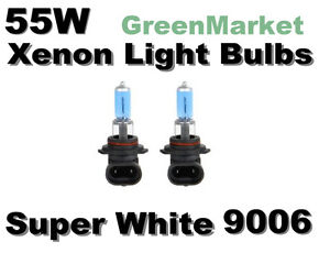 Toyota-01-03-Prius-Fog-Light-9006-HB4-Xenon-55w-Super-White-Bulbs